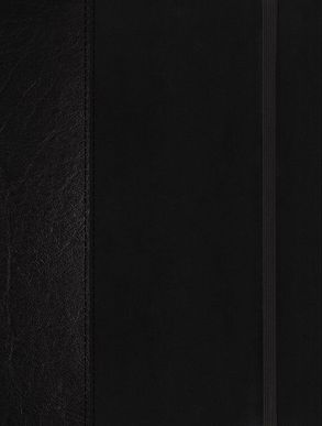 Cover image - NIV Journal The Word Bible Red Letter Edition [Black]