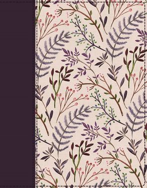 Cover image - NIV Journal The Word Bible Red Letter Edition [Pink Floral]