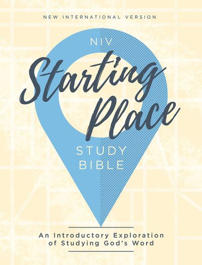 NIV Starting Place Study Bible
