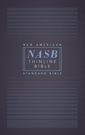 NASB, Thinline Bible, Paperback, Red Letter Edition, 1995 Text, Comfort Print Paperback  by No Author