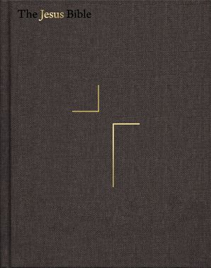 The Jesus Bible, ESV Edition, Cloth over Board, Grey Hardcover  by
