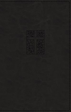 NRSV, Thinline Bible, Leathersoft, Black, Comfort Print Hardcover  by