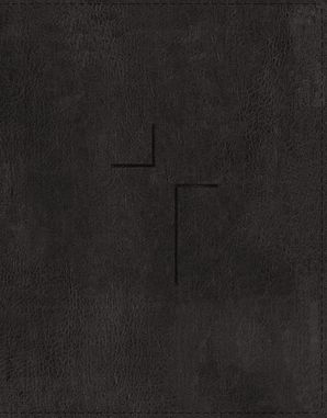 The Jesus Bible, ESV Edition, Leathersoft, Black Hardcover  by