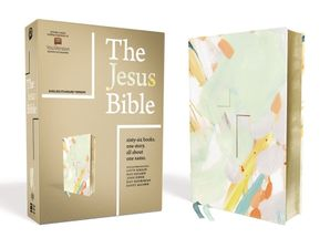 The Jesus Bible, ESV Edition, Leathersoft Hardcover  by No Author