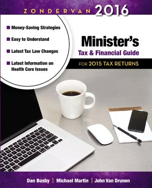 ZOND 2016 MINISTERS TAX GDE