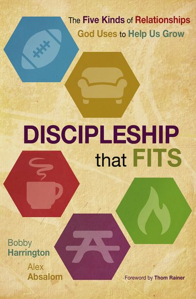 Discipleship That Fits: The Five Kinds of Relationships God Uses to HelpUs Grow