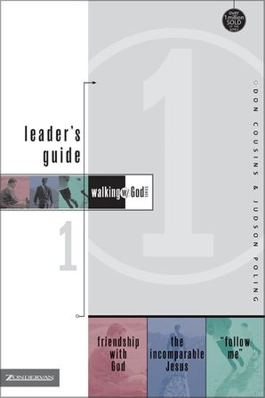 Walking with God Leader's Guide 1 Paperback  by Don Cousins