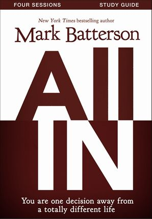 All In Study Guide with DVD Paperback  by Mark Batterson