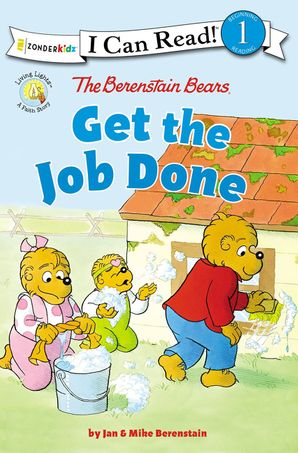 Berenstain Bears Get the Job Done: Level 1 (I Can Read! / Berenstain Bears / Living Lights) Paperback  by 473