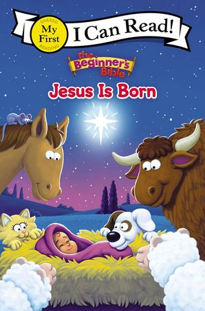 Beginner's Bible Jesus Is Born (I Can Read! / The Beginner's Bible) Paperback  by No Author