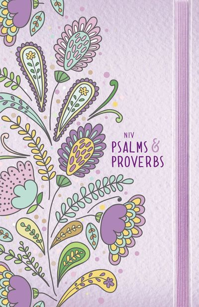 NIV Psalms And Proverbs [Purple]
