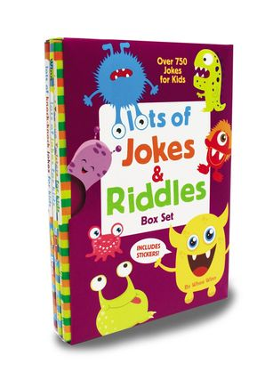 Lots of Jokes and Riddles Box Set: Over 750 Jokes for Kids
