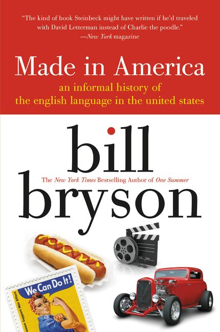 Made In America Bill Bryson Paperback