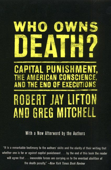 my personal belief against the death penalty as a form of punishment Some argue that the death penalty is a justly act against dangerous criminals while others argue that the penalty is immoral, playing the role of god, and does not even lower the crime rate one bit in fact, the death penalty is a severe punishment with some negative outcomes at times.