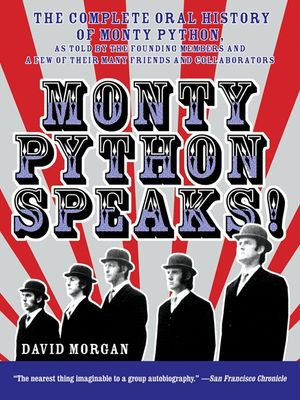 Monty Python Speaks! book image