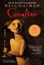 Coraline 10th Anniversary Edition Paperback  by Neil Gaiman