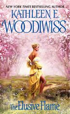 The Elusive Flame Paperback  by Kathleen E. Woodiwiss