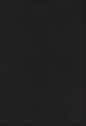 NKJV, Spirit-Filled Life Bible, Third Edition, Genuine Leather, Black Indexed, Red Letter Edition, Comfort Print