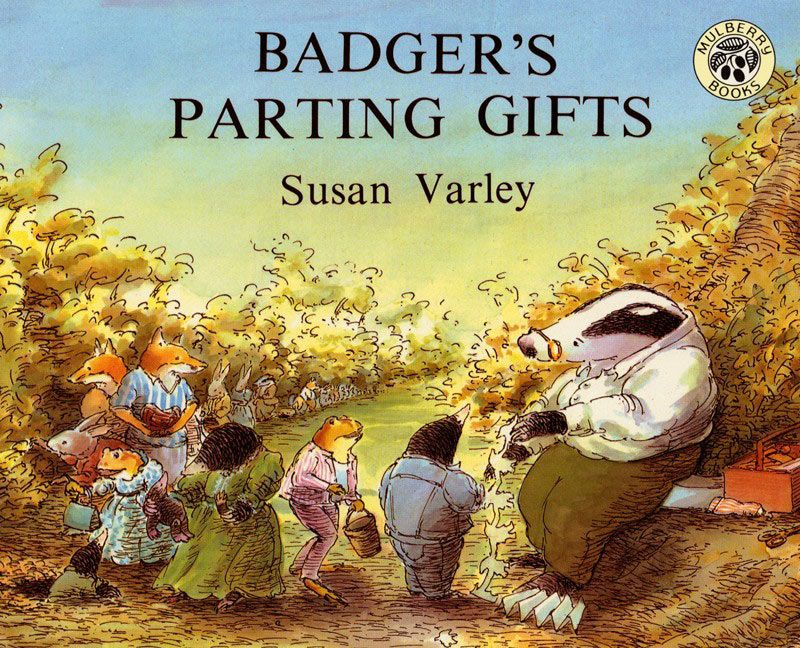 Badgers parting gifts susan varley hardcover enlarge book cover fandeluxe Images