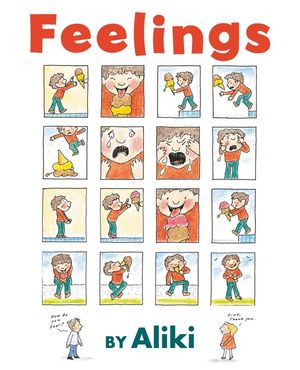 Feelings book image