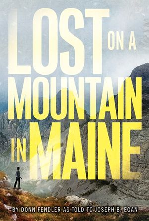 Lost on a Mountain in Maine book image