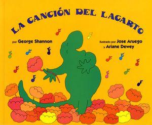 La cancion del lagarto book image