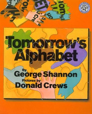 Tomorrow's Alphabet book image