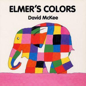 Elmer's Colors Board Book book image