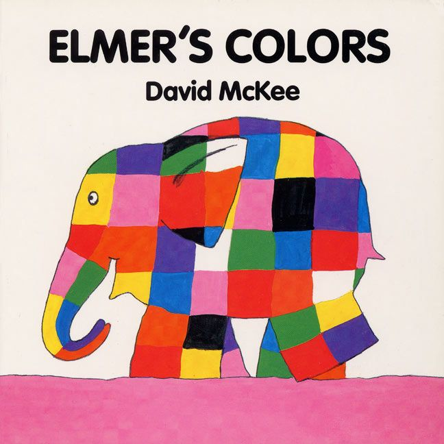 Elmer\'s Colors Board Book - David McKee - Board book