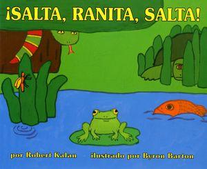 ¡Salta, Ranita, salta! book image