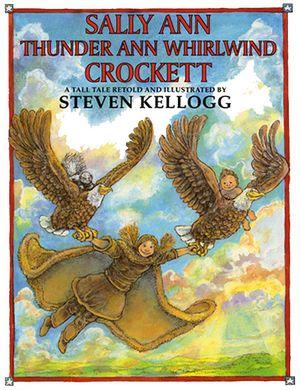 Sally Ann Thunder Ann Whirlwind Crockett book image