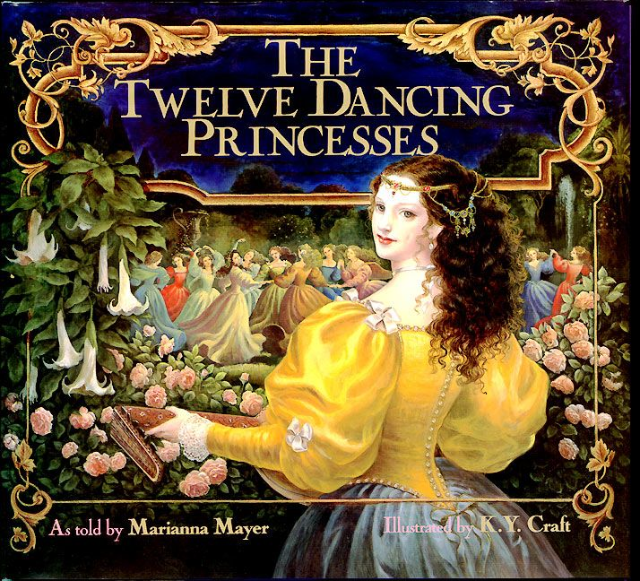 The Twelve Dancing Princesses - Marianna Mayer - Paperback