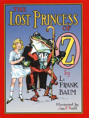The Lost Princess of Oz book image