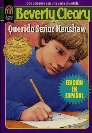 Querido Señor Henshaw book image