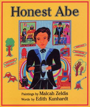 Honest Abe book image
