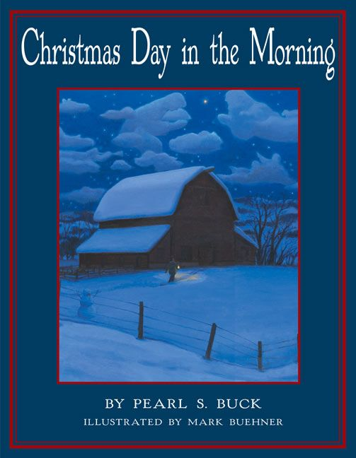christmas day in the morning read a sample enlarge book cover - On Christmas Day In The Morning