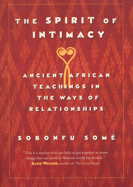 The spirit of intimacy sobonfu some paperback read a sample enlarge book cover fandeluxe Images