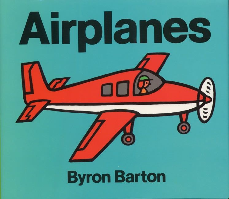 airplanes byron barton hardcover