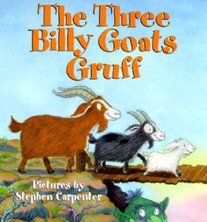 The Three Billy Goats Gruff book image
