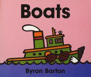 Boats Board Book book image