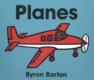 Planes Board Book book image