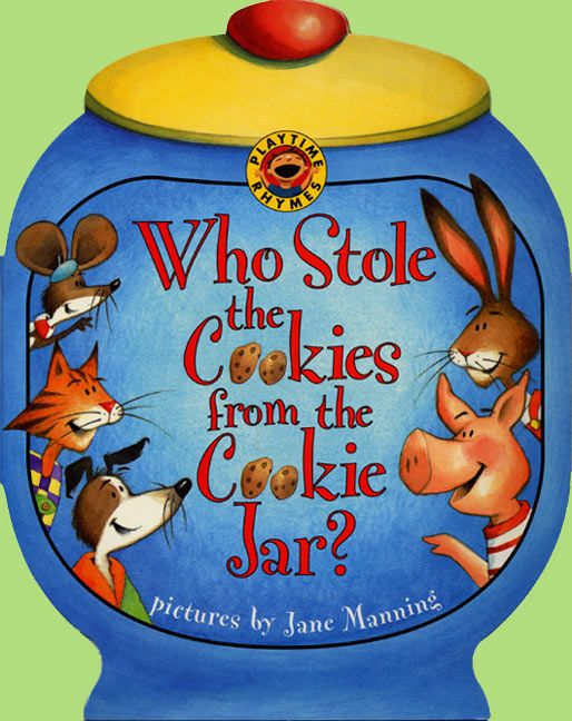 Who Stole The Cookie From The Cookie Jar Book Extraordinary Who Stole The Cookies From The Cookie Jar Public Domain Paperback
