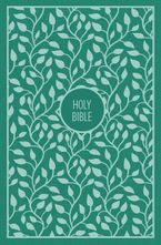 KJV Thinline Bible, Large Print, Cloth Over Board, Red Letter Edition [Turquoise] - Zondervan