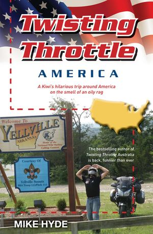 Twisting Throttle America book image