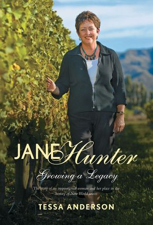 Jane Hunter Growing a Legacy book image