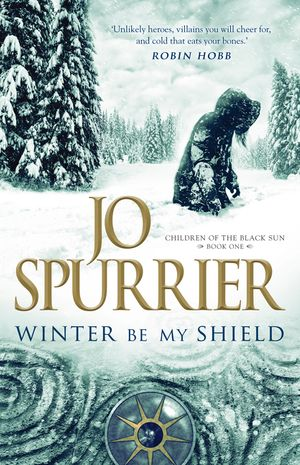 Winter Be My Shield book image