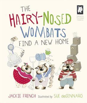 Cover image - The Hairy-Nosed Wombats Find a New Home