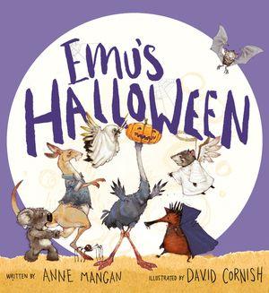 Emu's Halloween book image