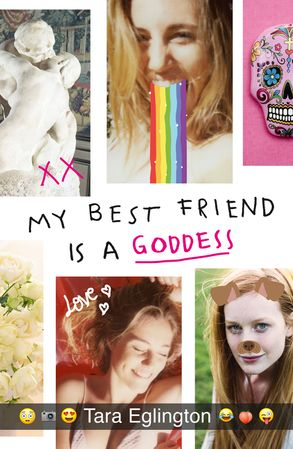 Cover image - My Best Friend is a Goddess
