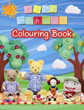 Cover image - Play School Colouring Book